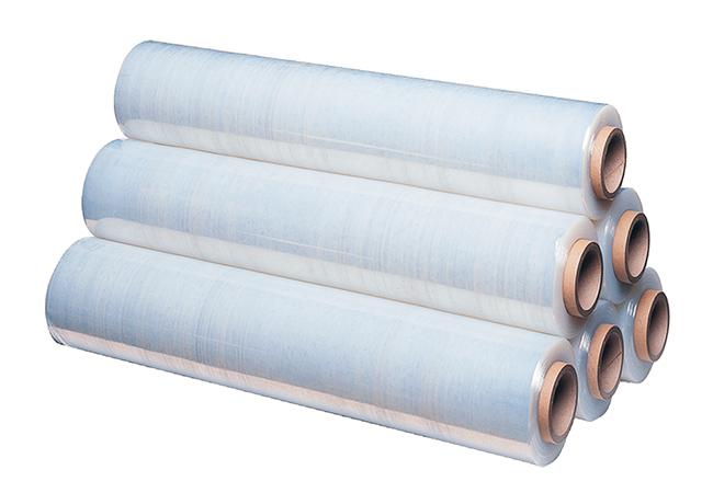Стрейч пленка для ручной упаковки Стретч-пленка (компакт) 75мм х 23 мкм (нетто-0,7 кг), рул
