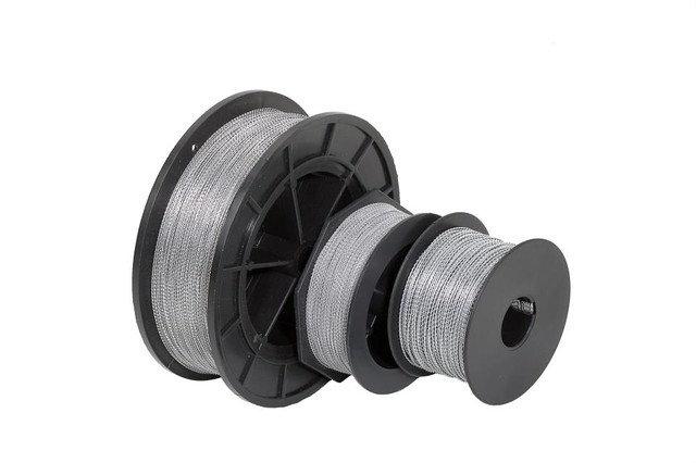 Инструменты для упаковки Проволока витая Н/Н (катушка 100м) D=0,65 мм, шт