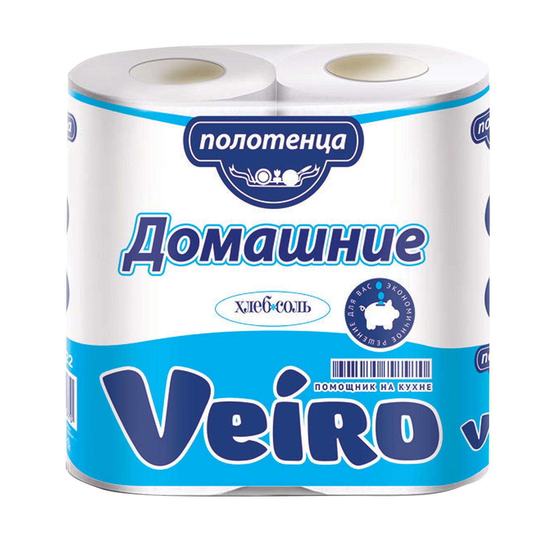 Сопутствующие товары Полотенца двухслойные «Веиро Домашние» /2/, упак