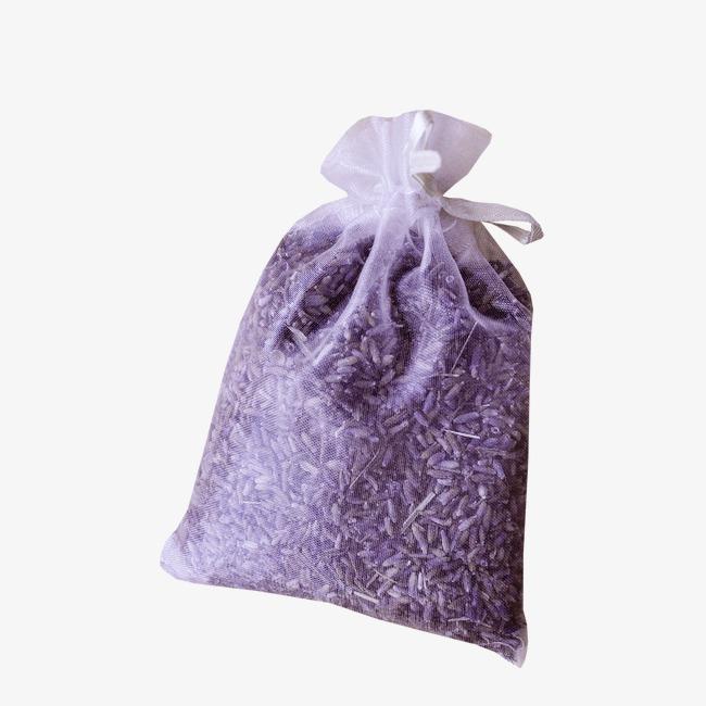 Картонные коробки НГ Мешок с завязками и ручкой, фиолетовый, 900 г, шт