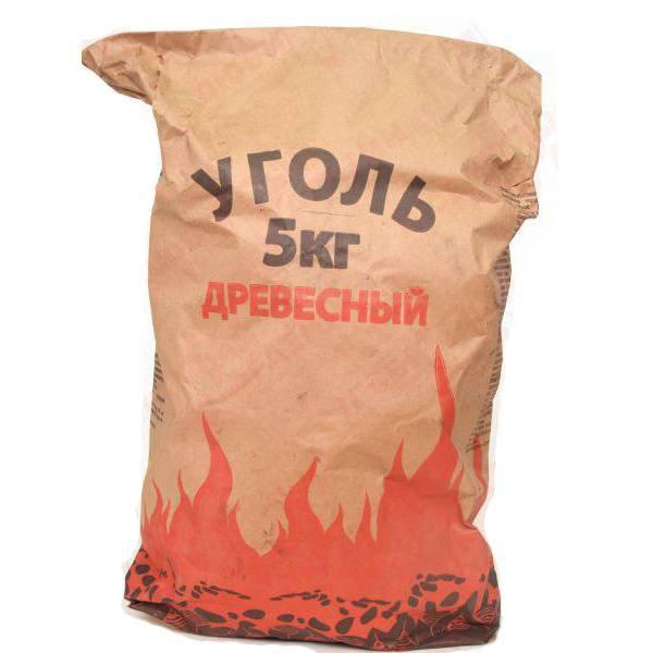 Уголь Уголь древесный (5 кг.), шт