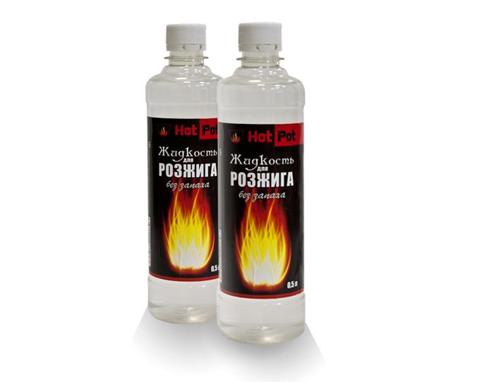Жидкости для розжига Жидкость для розжига 0,5 л, шт