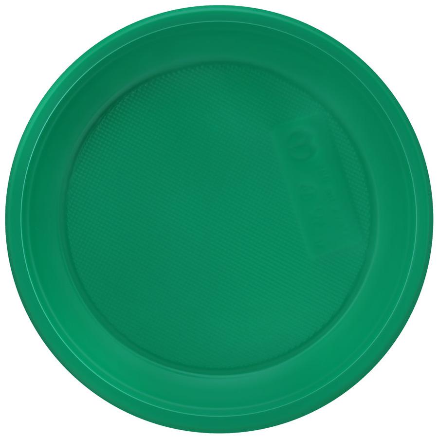 Одноразовая посуда Набор тарелка цветная D=170 /6/, шт