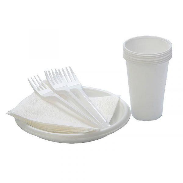 Одноразовая посуда Набор «Стандарт», шт