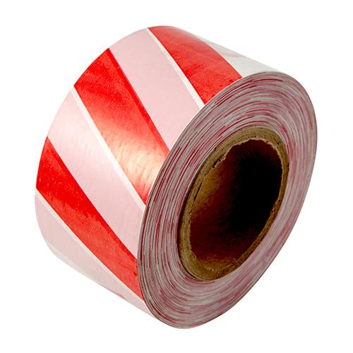 Специальные ленты Лента сигнальная, красно-белая 48мм*150м, шт