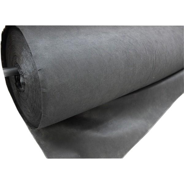 Одноразовая посуда Спанбонд № 60 3,2 м черный/150м, пм