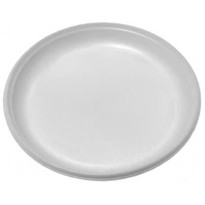 Одноразовые тарелки Тарелка бессекционная (D=205 мм) /100/, шт